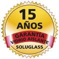 Sello garantía Soluglass de 15 años
