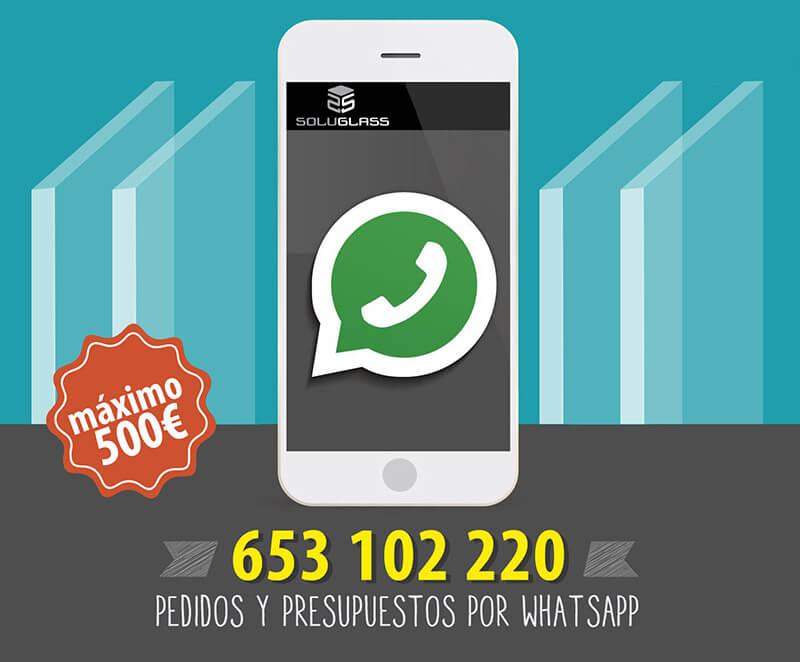 Pedidos y presupuestos por Whatsapp