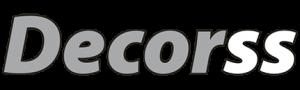 Logo de la marca propia de vidrio Decorss