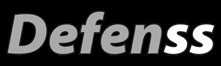 Logo de la marca propia de vidrio Defenss