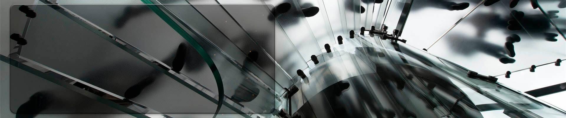 Slide de escalera de vidrio pisable Pisaglass