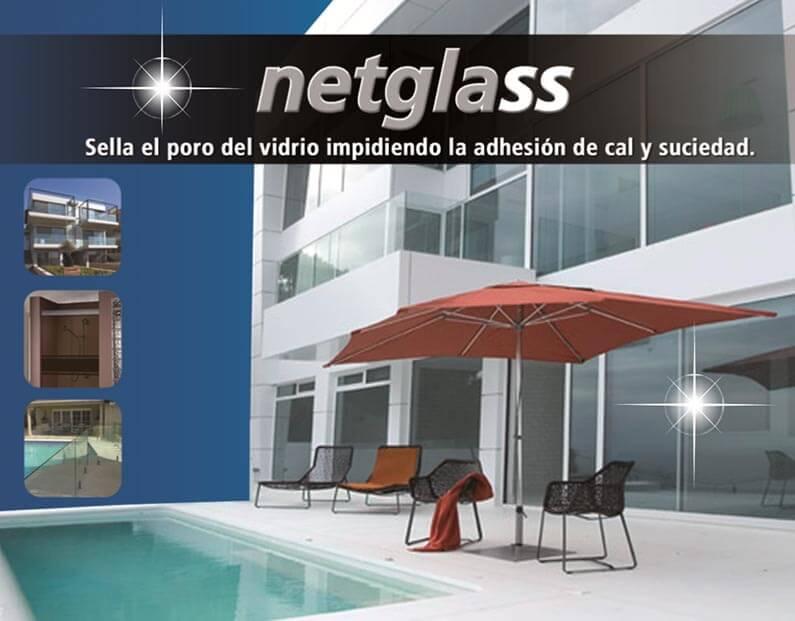 Tratamiento de protección netglass para vidrios