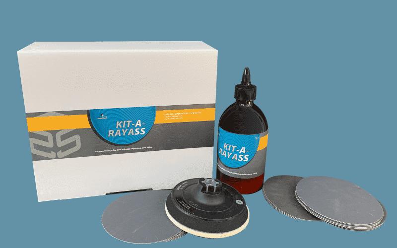 Reparar vidres en minuts: Kit-A-*Rayass