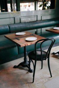 Mamparas protección para restaurantes