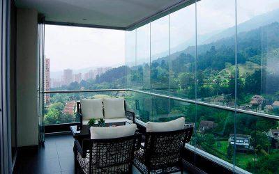 Cortinas de Cristal: terraza todo el año
