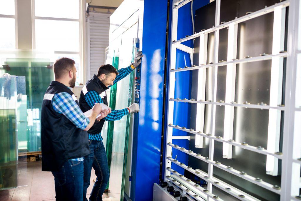 control de calidad vidrio aislante